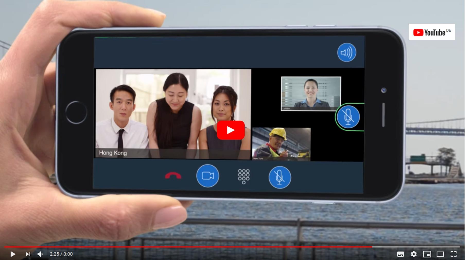 Video zur Einführung in AVAYA IX Meetings Online