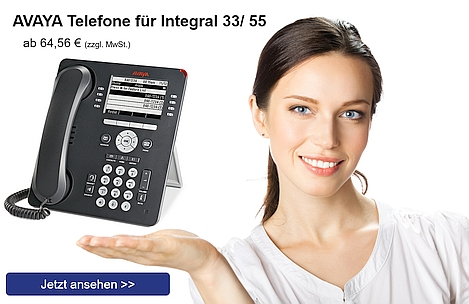 Banner 2 - AVAYA Telefone Integral 33/ 55
