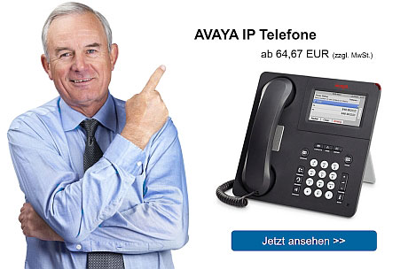 Banner 5 - AVAYA IP Telefone