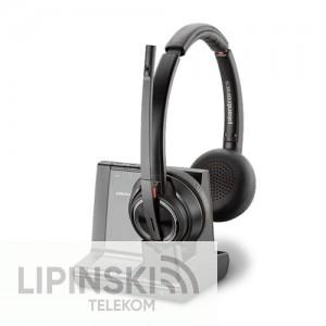 Plantronics Savi W8220 Headset mit Adapter für AVAYA Telefone
