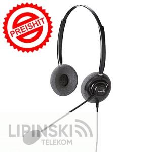 ADDCOM Headset ADD330 Noise Cancelling binaural