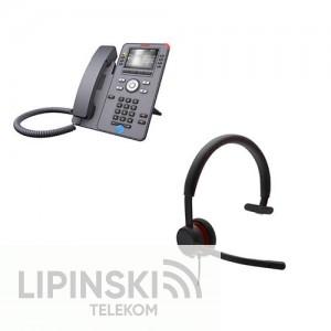 AVAYA J169 IP Deskphone mit AVAYA L119 Headset