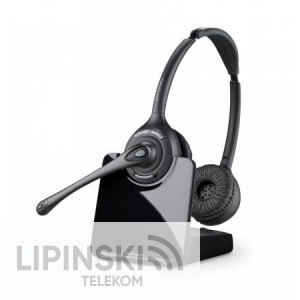 Plantronics CS520 schnurloses DECT Headset, binaural - mit AVAYA Telefon