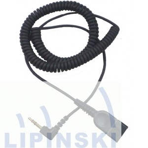 ADDCOM Curly Cord - QD to 3,5mm