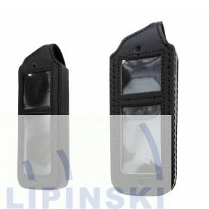 Ledertragetasche für FC4, geschlossen