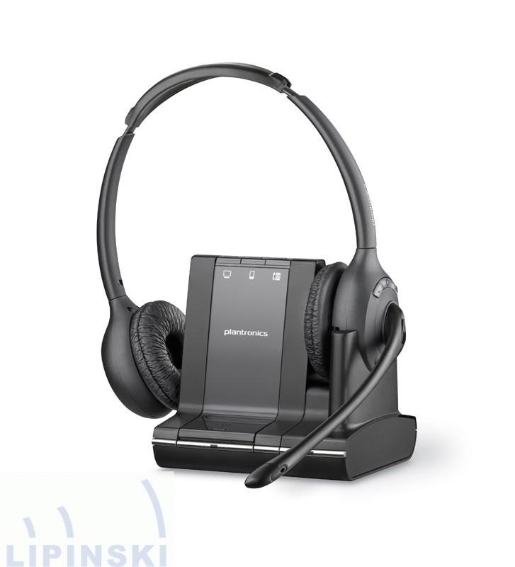 Plantronics Savi W720 Headset mit Adapter für Integral Telefone ...