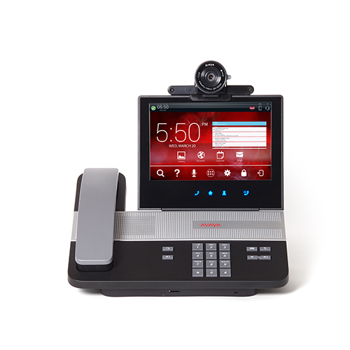 AVAYA H175 Homescreen