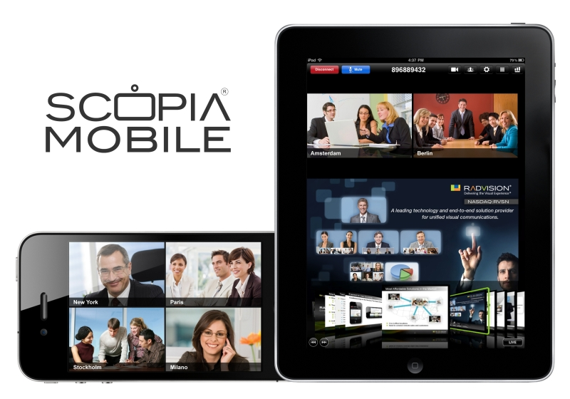 AVAYA Radvision Scopia Mobile overview